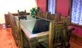 Custom Glass Desk and Tabletops