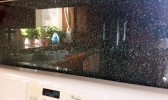 Custom Glass for Countertops and Back Splash Wall
