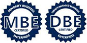 MBE & DBE company certified by the State of Illinois